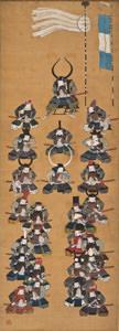 黒田二十四騎図<福岡市博物館蔵>