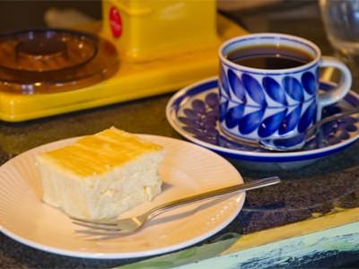 飯塚_喫茶_フルハウス_ケーキセット