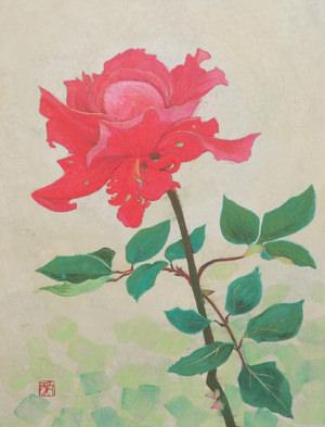 ギャラリーEnlace-201312-川村愛日本画展 the flower