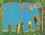 faam-201405-自閉の画家 太田宏介 ~22年の軌跡~-アジアゾウと森