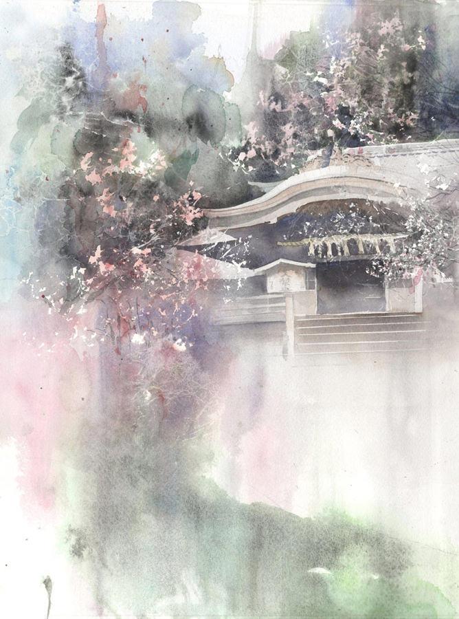 こんにちは、天神さま展-春崎幹太 「太宰府」