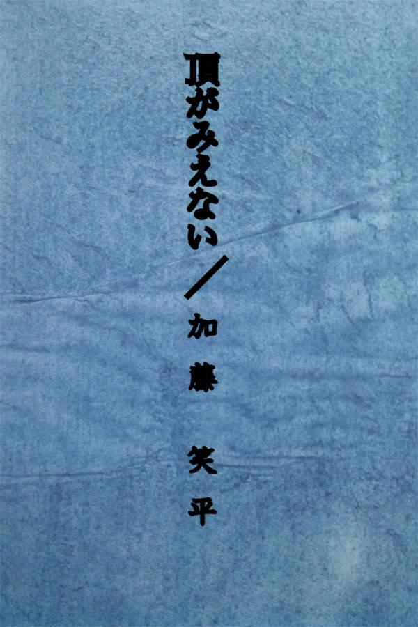 iaf-201506-頂きがみえない / 加藤笑平