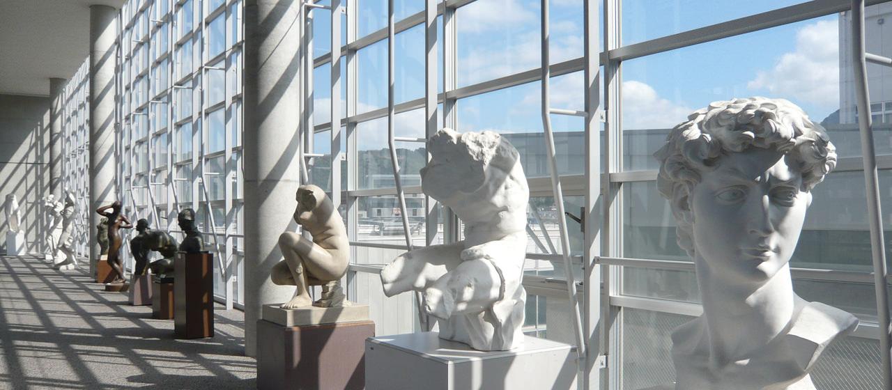 九州産業大学美術館-オープンスペース