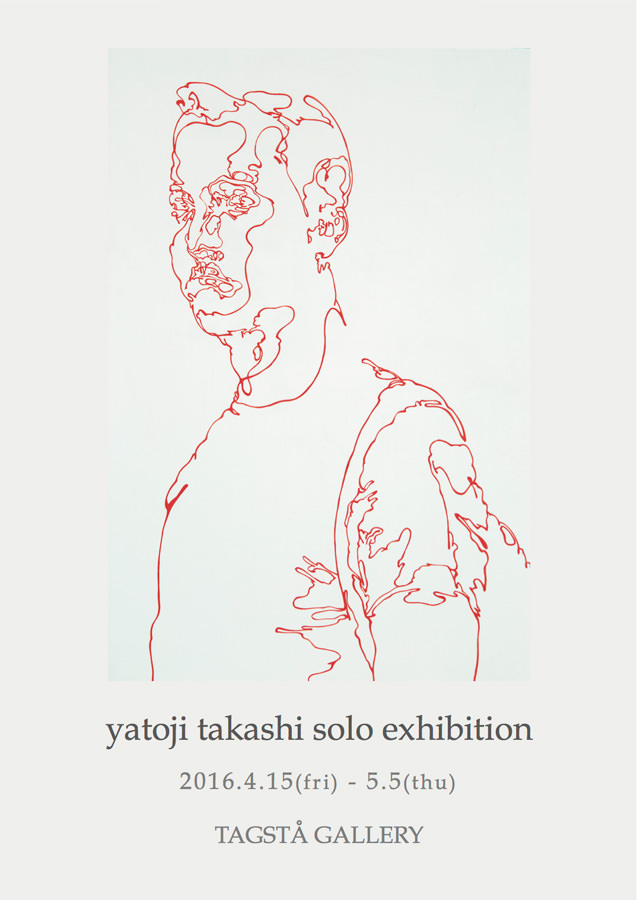 "tagsta-201604-yatoji takashi solo exhibition ""chromatic drawing"""