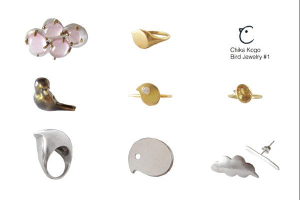 ombre-201609-Chika Kogo Bird Jewelry #1