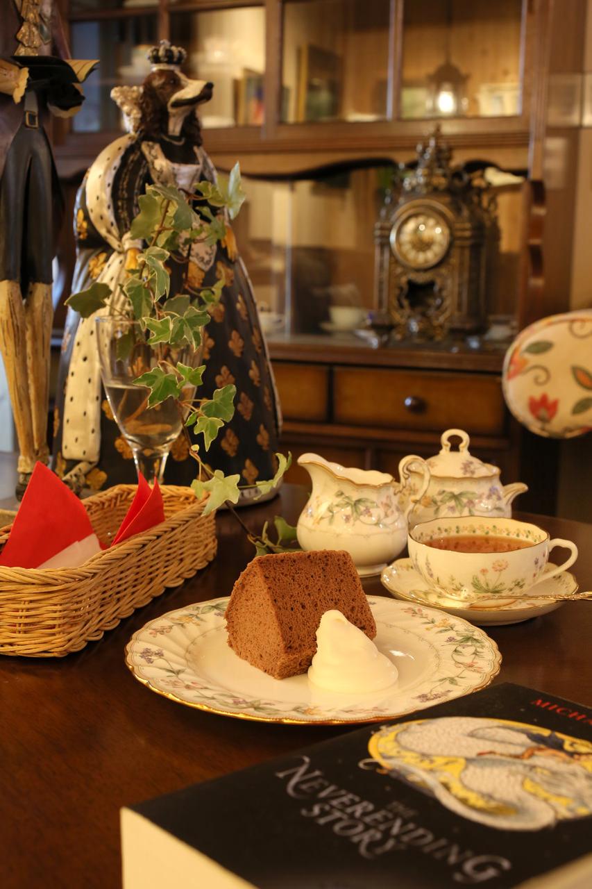 Cafe&Galleryフッフール-シフォンケーキセット
