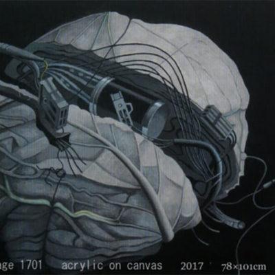 baku-201711-齋藤秀三郎展「文明キャベツ」