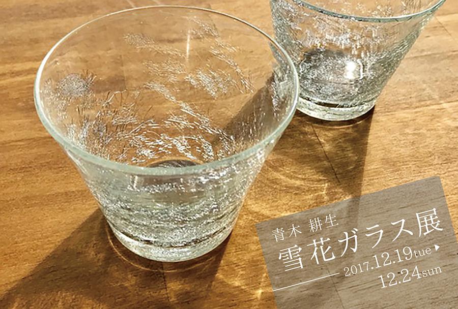 enlc-201712-青木耕生 雪花ガラス展