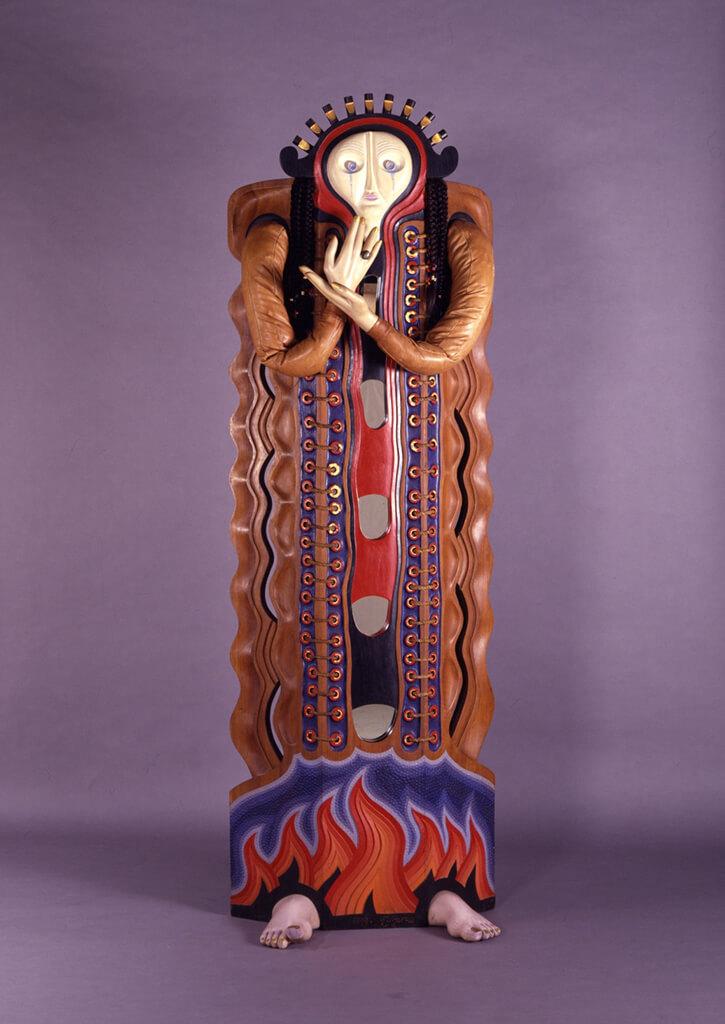 グレゴリウス・シダルタ・スギジョ(インドネシア) ≪泣く女神≫1977年