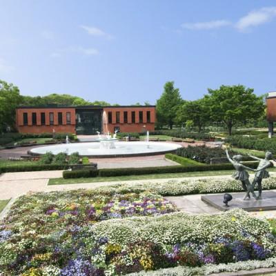 石橋美術館 庭園