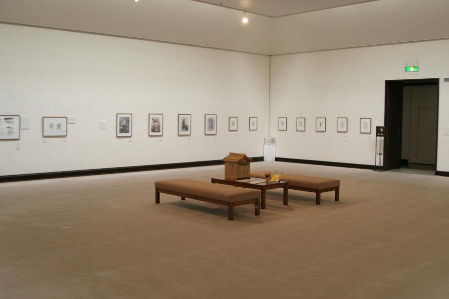 田川市美術館 中央展示室