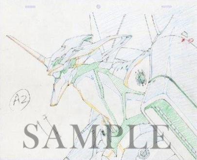 北九州市漫画ミュージアム-エヴァンゲリオン展-「:序」C-0827 原画