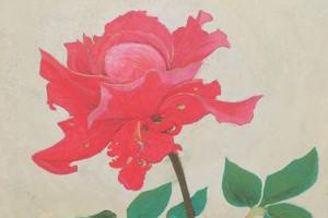 ギャラリーEnlace-201312-川村愛日本画展 the flower-thumb