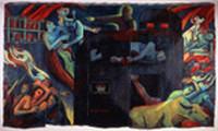 福岡アジア美術館-201401-ウォン・ホイチョン(マレーシア)「粛清」1991年