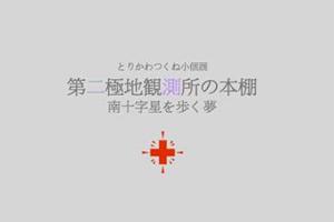 "t-torikawa-201402-とりかわつくね 小個展「第二極地観測所の本棚 ""南十字星を歩く夢""」-thumb"