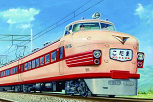 homa-201407-蒸気機関車から新幹線 夢を描く鉄道画 木村定男の世界展-thumb