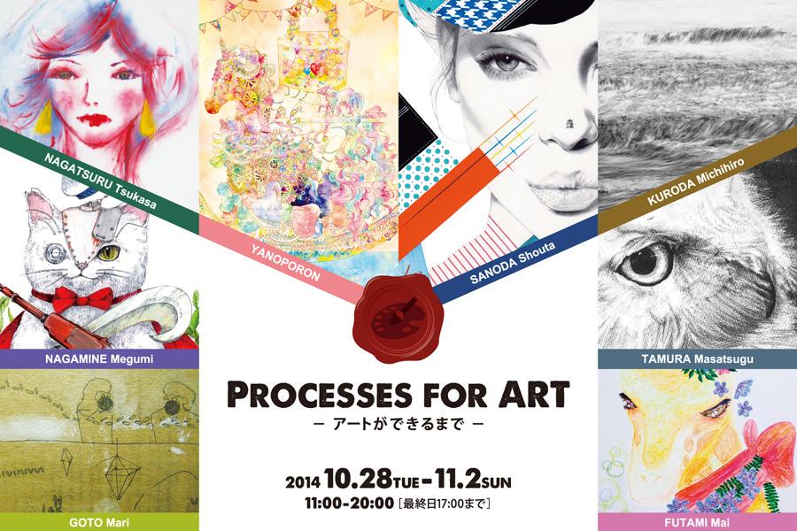 Processes for art -アートができるまで-