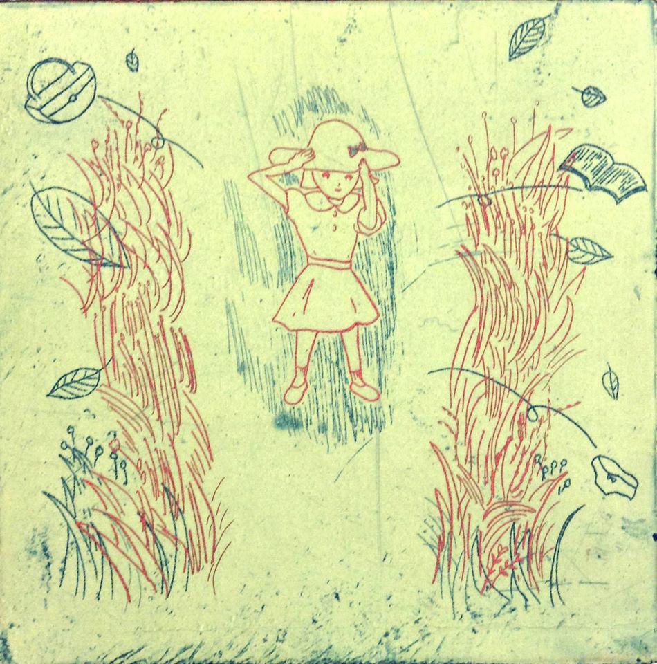 bin-201609-浅野綾花 個展 「今日の帰り道はなにをしようかな」