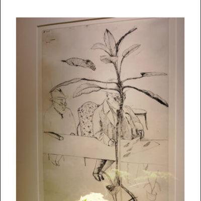 shimazu-201906-版画-盆栽-展覧会1