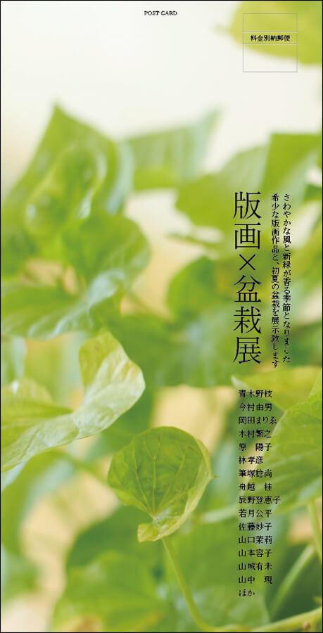 shimazu-201906-版画-盆栽-展覧会2