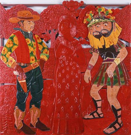 いろ/ロベルト・フェレオ(フィリピン)「ナーダの求婚者たち」1987年